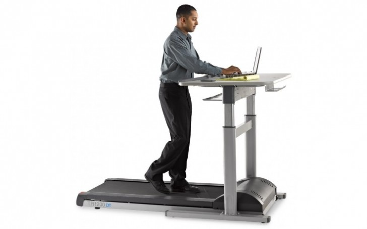 Picture of TR1200-DT7 Treadmill Desk 48""