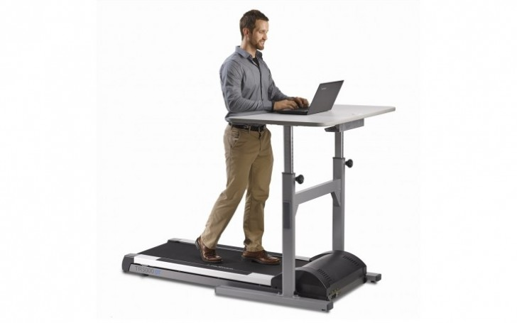"""Picture of TR5000-DT5 Treadmill Desk 48"""""""