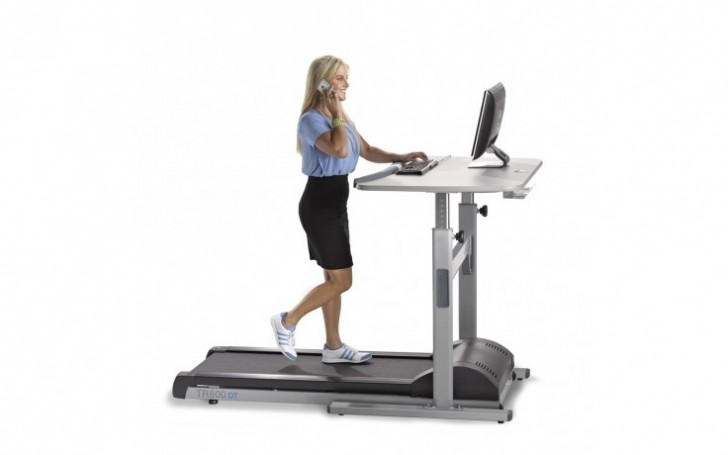 Picture of TR800-DT5 Treadmill Desk 48""