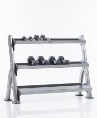 2-Tier Tray Dumbbell/Kettle Bell Rack CDR-300