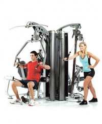 4-Station Multi Gym System (Aluminum Pulley's) AP-7400X
