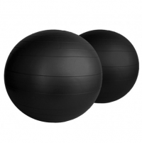 Black Fitness Ball