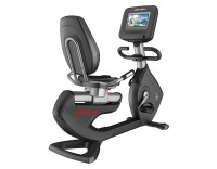 Elevation Series Discover SE3 HD Tablet Console Recumbent Lifecycle Exercise Bike