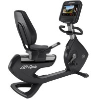 Elevation Series Lifecycle® Recumbent Exercise Bike - SE Console