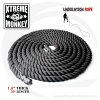 Undulation Rope : Gym Rope 50'